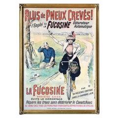 1900 La Fucosine Bicycle Advertising Poster