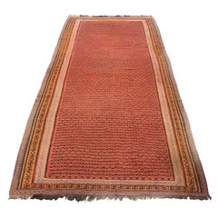 1900 Northwest Persian Saveh Wool Ghelim Malayer Design Rug