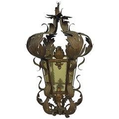 1900 Style Lantern, circa 1930-1950