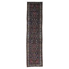 """1900s Antique Persian Bakhtiari Runner Oriental Rug - 3'1"""" x 12'9"""""""