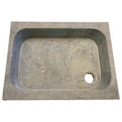 1900's Belgian Bluestone Sink