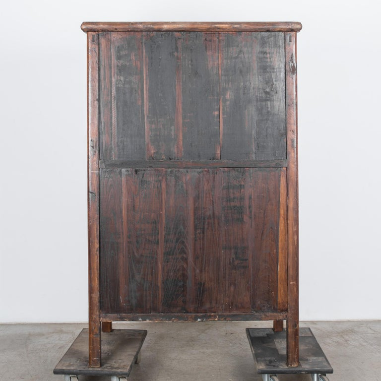 1900s Chinese Wooden Armoire For Sale 10