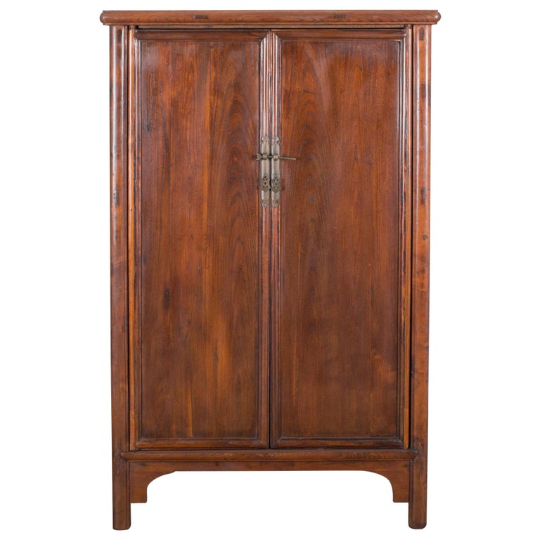 1900s Chinese Wooden Armoire For Sale
