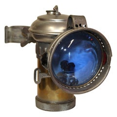 1900s Columbia Model C Carbide Motorcycle/Bicycle Lantern