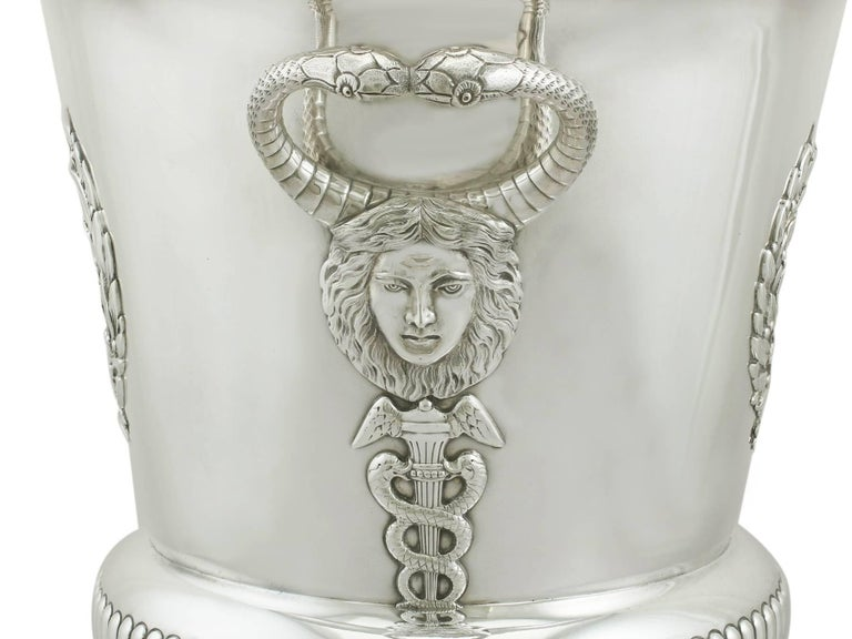 English 1900s Edwardian Sterling Silver Presentation Cup and Cover For Sale