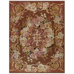 1900s French Aubusson Rug