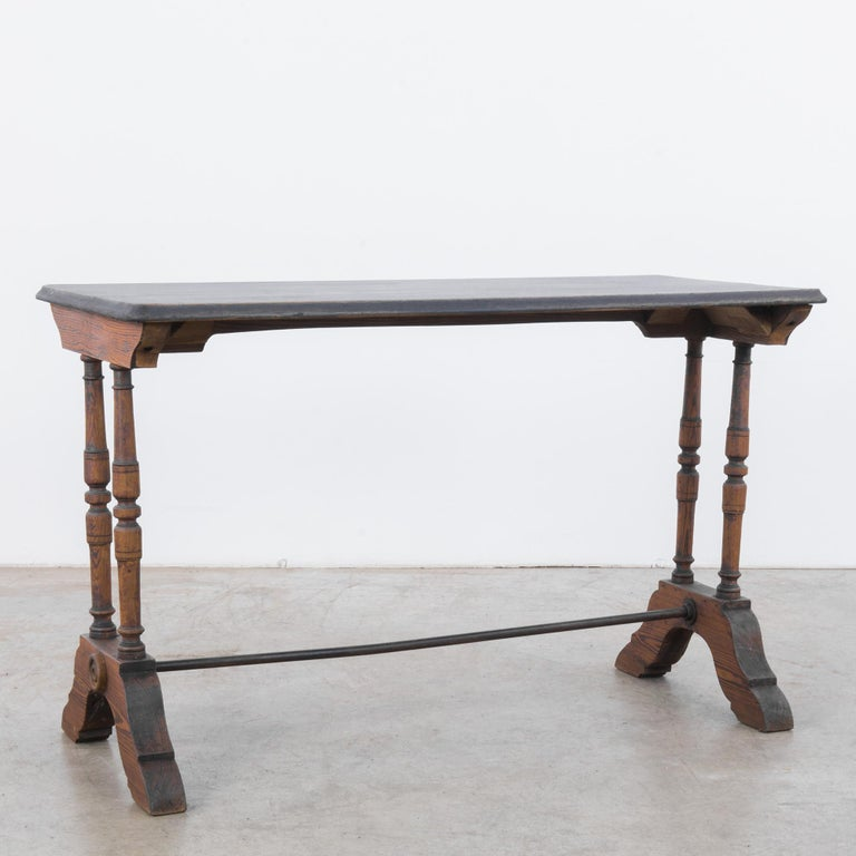 French Provincial 1900s French Bistro Table For Sale