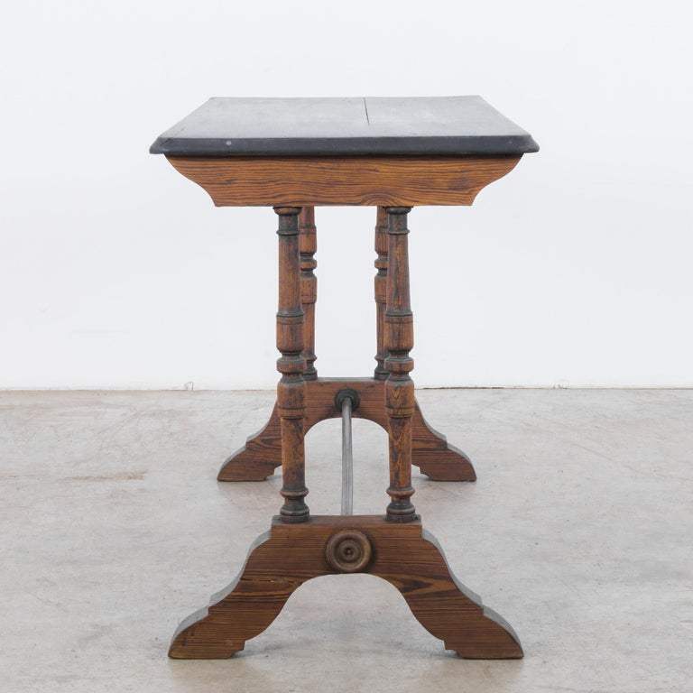 1900s French Bistro Table In Good Condition For Sale In High Point, NC
