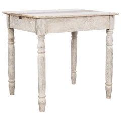 1900s French Oak Side Table