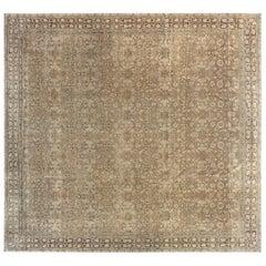 1900s Indian Amritsar Carpet