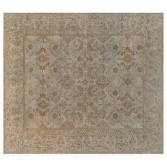 1900s Indian Amritsar Carpet 'Size Adjusted'