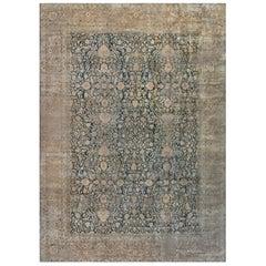 1900s Large Persian Khorassan Carpet