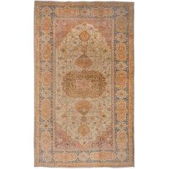 1900s Oushak Carpet