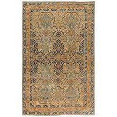 1900s Persian Kirman Carpet