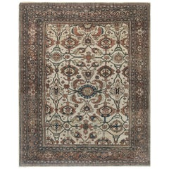 1900s Persian Sultanabad Carpet