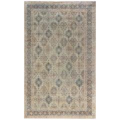 1900s Persian Tabriz Carpet