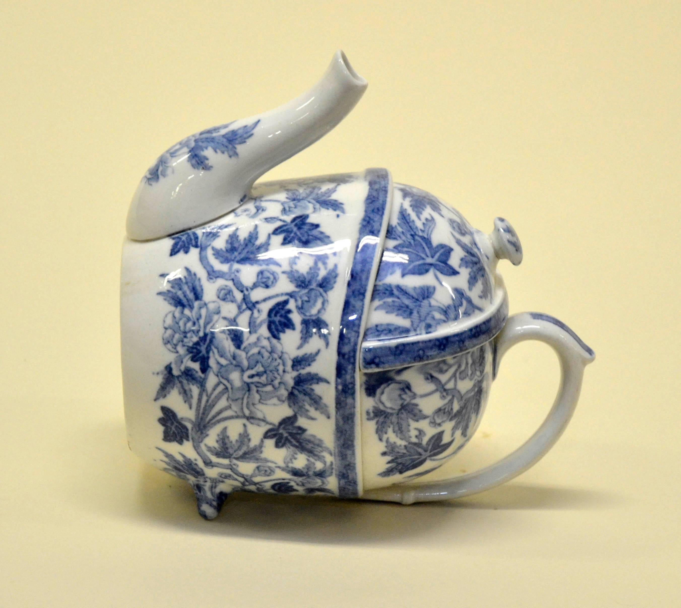 1900s S.YP. Simple Yet Perfect Peony Wedgwood Patent Teapot Made in ...