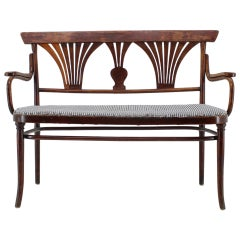 1900s Thonet Sofa Nr. 221, Czechoslovakia