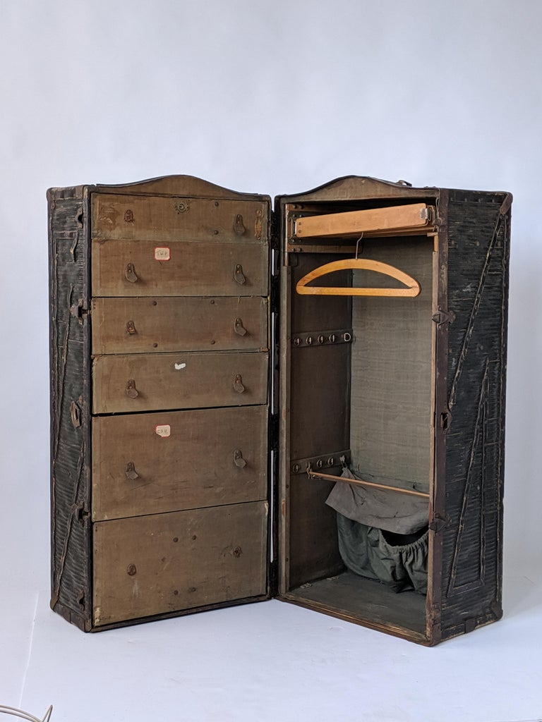 American Classical 1903 Steamer Trunk from