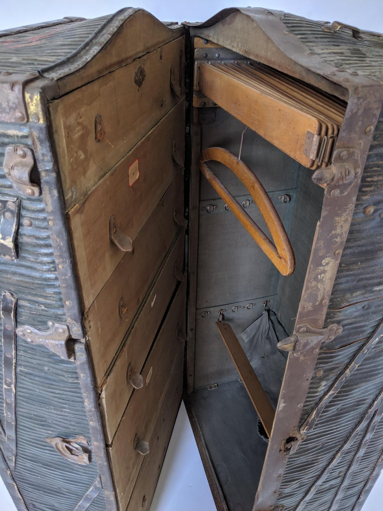 1903 Steamer Trunk from