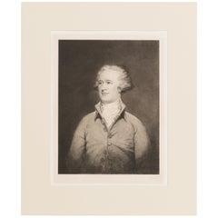1904 Antique Portrait of Alexander Hamilton, Signed by Jacques Reich