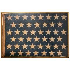 1904 New York Naval Yard Flag