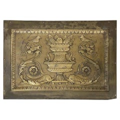 1904 Original Bronze Panel from the St. Regis Hotel, NYC, Beaux-Arts Style