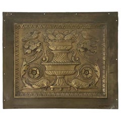 1904 Original Decorative Bronze Panel from the Beaux-Arts St. Regis Hotel, NYC