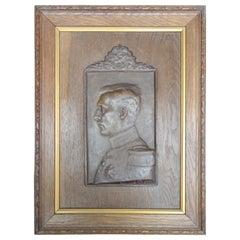 1909 Royal Coronation Plaque of King Albert of Belgium