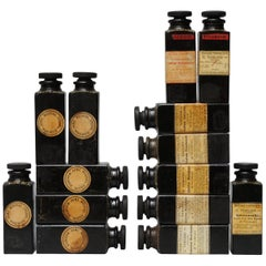 1910-1919 Bakelite Expedition Burroughs Wellcome & Co London Medicine Bottles