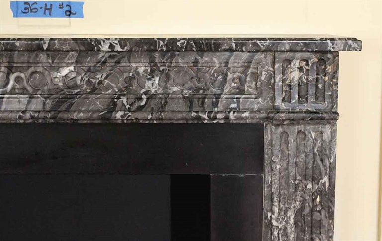 1910 NYC Waldorf Astoria Hotel French Regency Louis XVI Marble Mantel For Sale 3