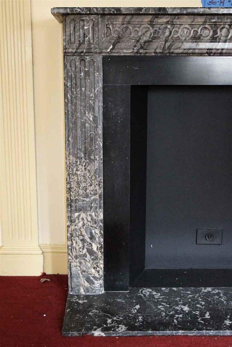 1910 NYC Waldorf Astoria Hotel French Regency Louis XVI Marble Mantel For Sale 4