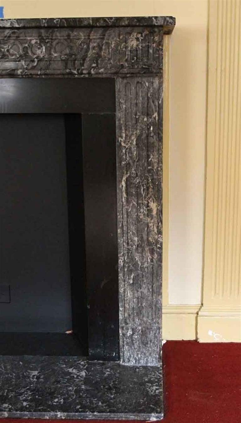 1910 NYC Waldorf Astoria Hotel French Regency Louis XVI Marble Mantel For Sale 5