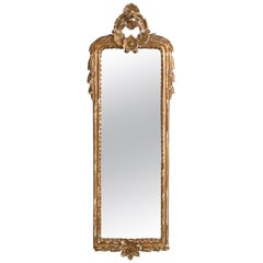 1910s Antique French Gilded Mirror
