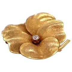 1910s Flower Pin Pendant