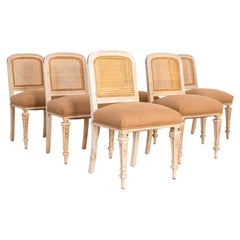 1910s French Dining Chairs, Set of 6
