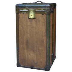Metal Trunks and Luggage