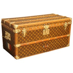 1910s Louis Vuitton Shoe Trunk, Louis Vuitton Trunk, Louis Vuitton Steamer Trunk