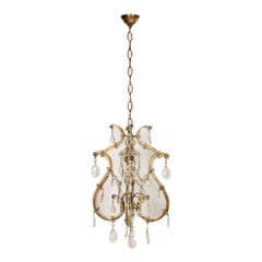 1910s Murano Maria Teresa Chandelier by Salviati with Restored Electrical System