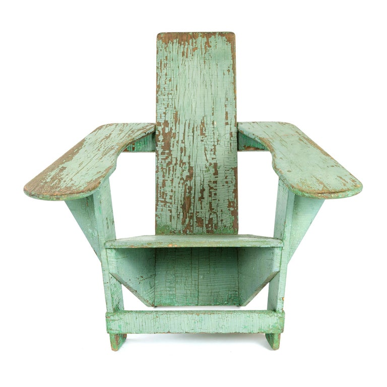 Profoundly innovative and original, the 'Westport' Adirondack chair a century after its introduction remains a tribute to the creativity of Americas' indigenous designers/craftsmen. Named after the rural town in New York state's Adirondack region