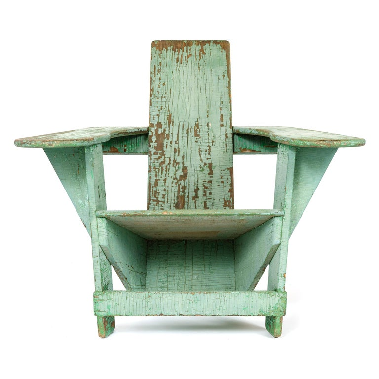 American Craftsman 1910s Pair of Westport Chairs by Thomas Lee for Harry Bunnell For Sale
