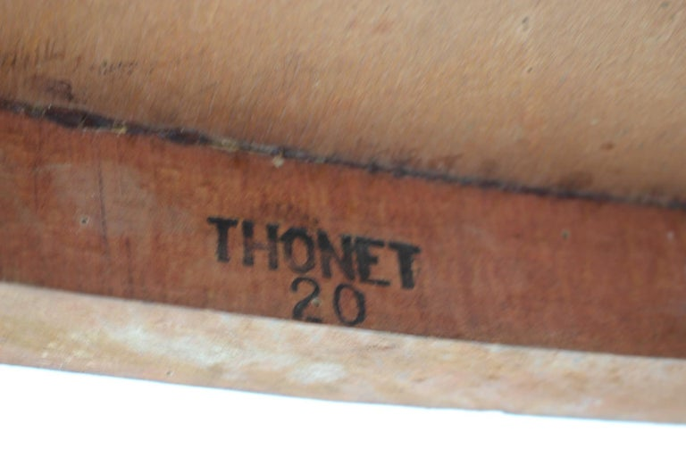 1910s Set of Two Marcel Kammerer Wooden Chairs for Gebruder Thonet For Sale 1