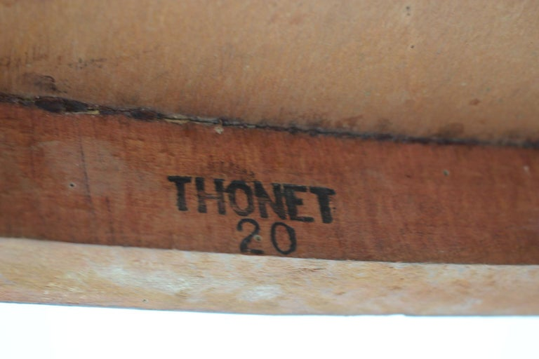 1910s Set of Two Marcel Kammerer Wooden Chairs for Gebruder Thonet For Sale 2
