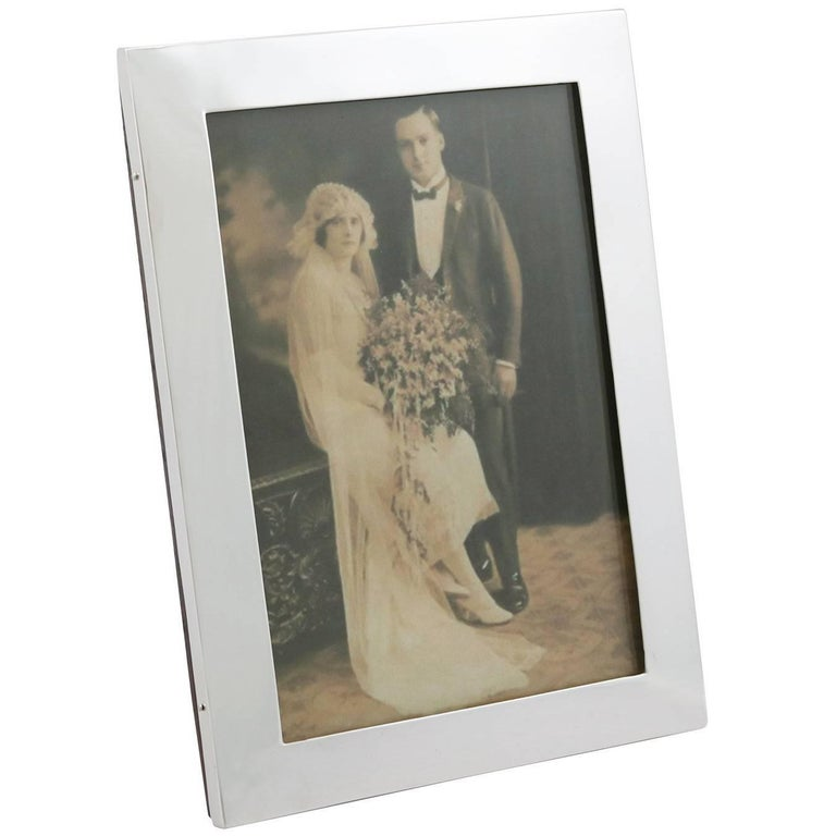 Antique Sterling Silver Photograph Frame 1911 For Sale At 1stdibs