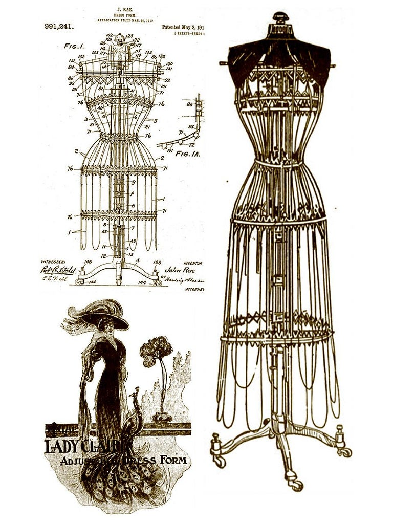1911, The Lady Claire Dress Form, Very Rare For Sale 1