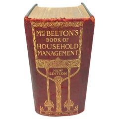 "1912 ""Mrs. Beetons Book of Household Management"""
