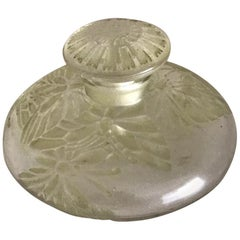 1912 Rene Lalique Misti Perfume Bottle for L.T Piver Butterflies Stained Glass