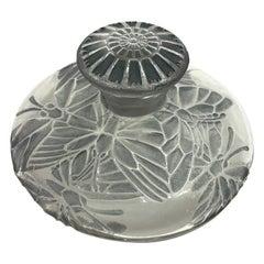 1912 René Lalique Misti Perfume Bottle for L.T Piver Butterflies Stained Glass