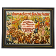 1915 Barnum & Bailey Antique Circus Poster