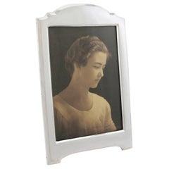 1916 Antique George V Sterling Silver Photograph Frame